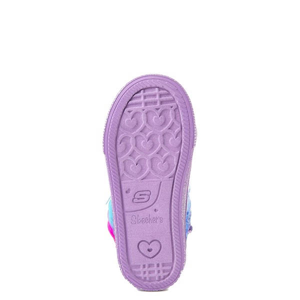 alternate view Skechers Twinkle Toes Shuffle Brights Sneaker - ToddlerALT5
