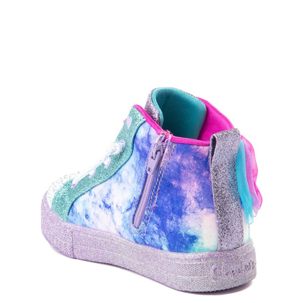 alternate view Skechers Twinkle Toes Shuffle Brights Sneaker - ToddlerALT2