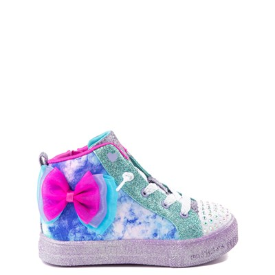 Main view of Skechers Twinkle Toes Shuffle Brights Sneaker - Toddler