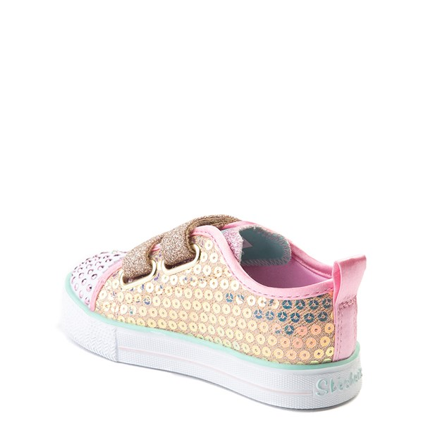 alternate view Skechers Twinkle Toes Mermaid Sneaker - ToddlerALT2