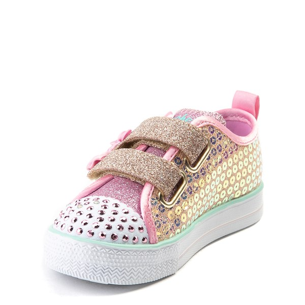 alternate view Skechers Twinkle Toes Mermaid Sneaker - ToddlerALT3