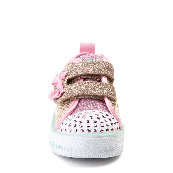 alternate view Skechers Twinkle Toes Mermaid Sneaker - ToddlerALT4