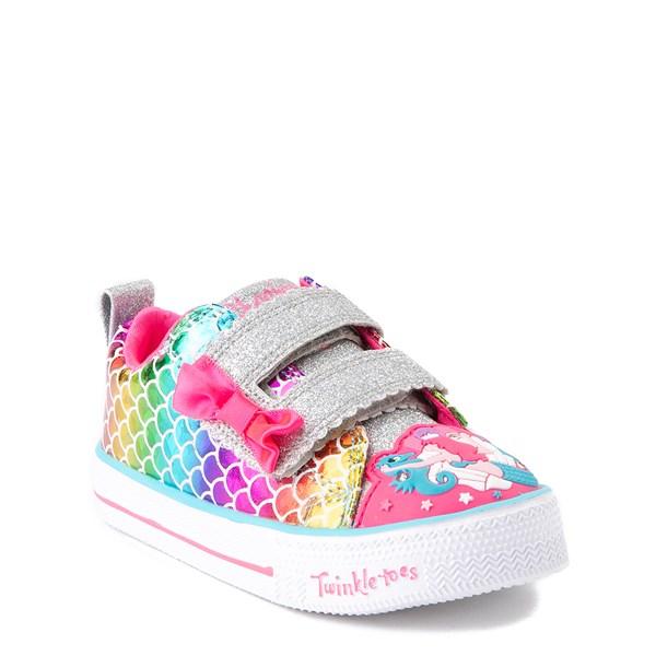 alternate view Skechers Twinkle Toes Mermaid Sneaker - ToddlerALT1B