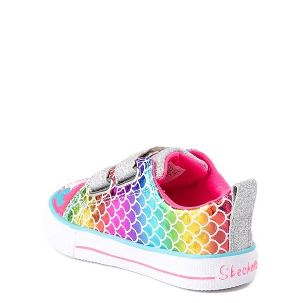 alternate view Skechers Twinkle Toes Mermaid Sneaker - ToddlerALT2