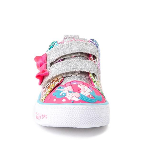 alternate view Skechers Twinkle Toes Mermaid Sneaker - ToddlerALT4