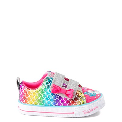 Main view of Skechers Twinkle Toes Mermaid Sneaker - Toddler