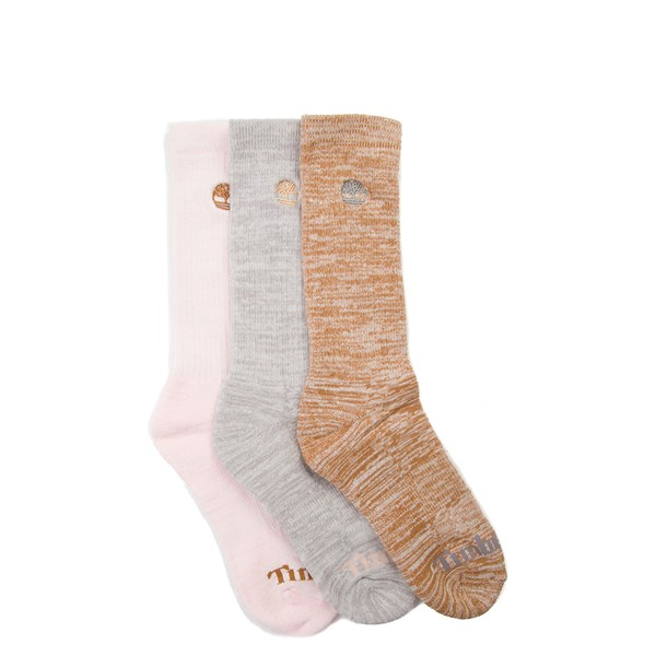 Womens Timberland Boot Crew Socks 3 Pack