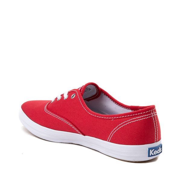 alternate view Womens Keds Champion Original Casual Shoe - RedALT1