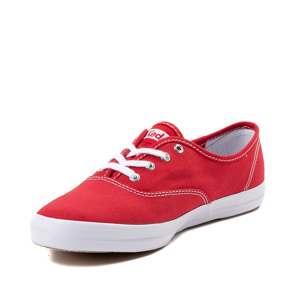 alternate view Womens Keds Champion Original Casual Shoe - RedALT2