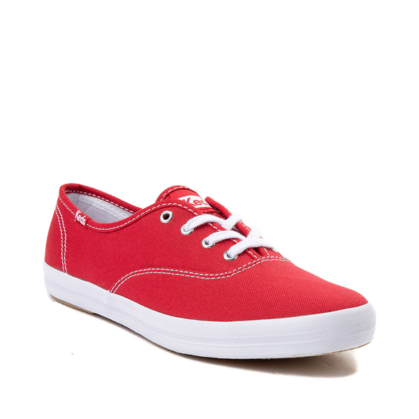 alternate view Womens Keds Champion Original Casual Shoe - RedALT5