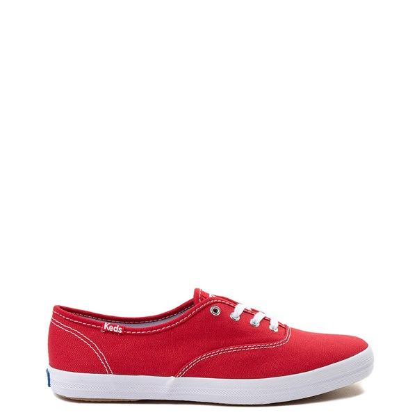 Main view of Womens Keds Champion Original Casual Shoe - Red