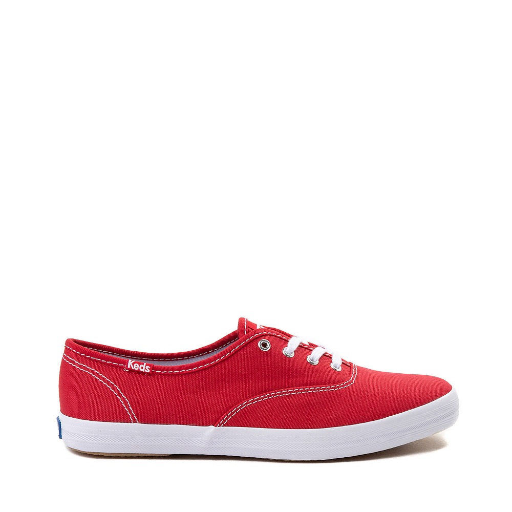 Womens Keds Champion Original Casual Shoe - Red