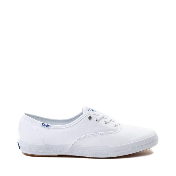 Main view of Womens Keds Champion Original Casual Shoe - White Monochrome