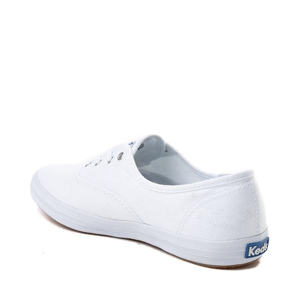 alternate view Womens Keds Champion Original Casual Shoe - White MonochromeALT1