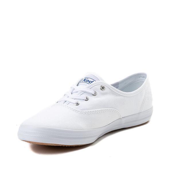 alternate view Womens Keds Champion Original Casual Shoe - White MonochromeALT2