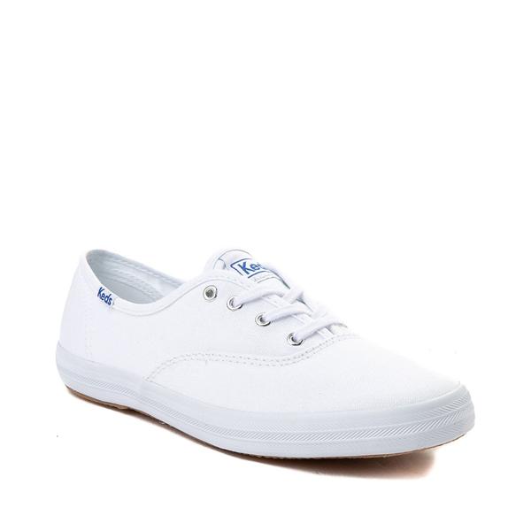 alternate view Womens Keds Champion Original Casual Shoe - White MonochromeALT5