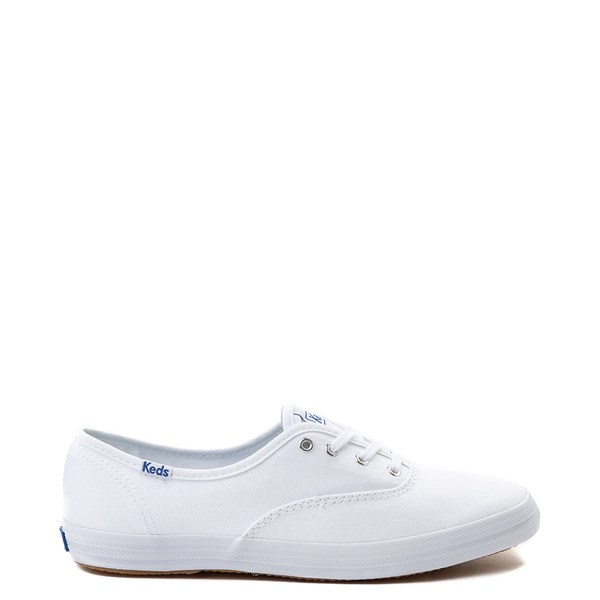 Main view of Womens Keds Champion Original Casual Shoe - White Monochrome