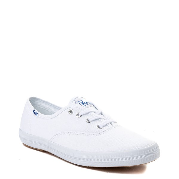 alternate view Womens Keds Champion Original Casual Shoe - White MonochromeALT1