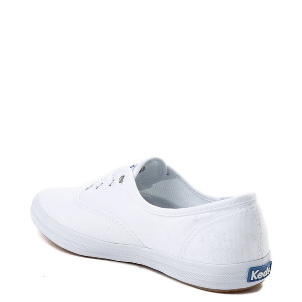 alternate view Womens Keds Champion Original Casual Shoe - White MonochromeALT2