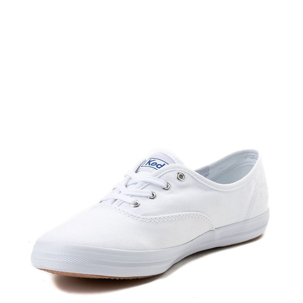 alternate view Womens Keds Champion Original Casual Shoe - White MonochromeALT3