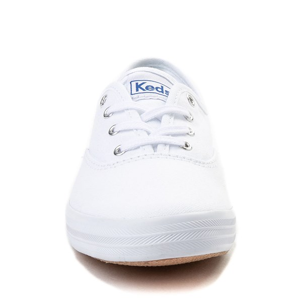 alternate view Womens Keds Champion Original Casual Shoe - White MonochromeALT4