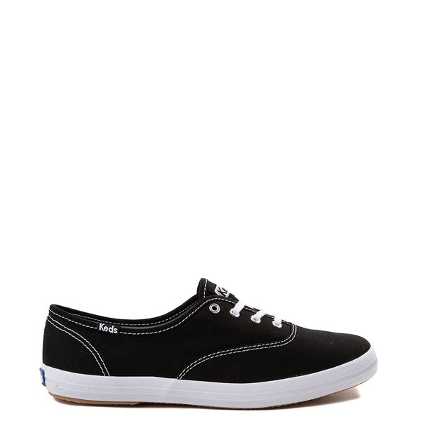 Womens Keds Champion Original Casual Shoe - Black / White