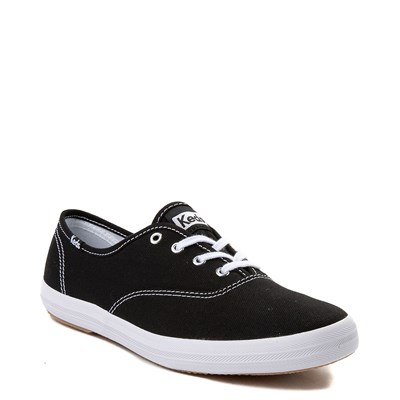 Alternate view of Womens Keds Champion Original Casual Shoe - Black / White