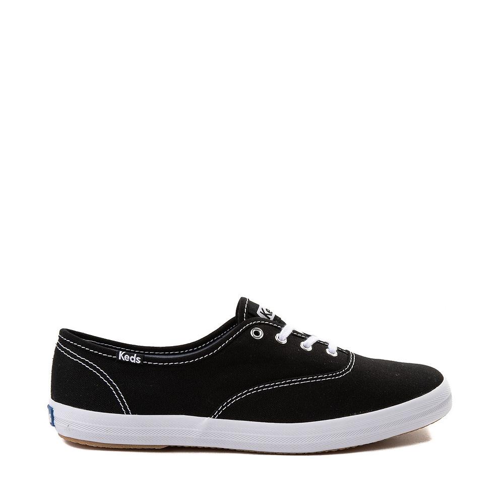 Womens Keds Champion Original Casual Shoe - Black / White
