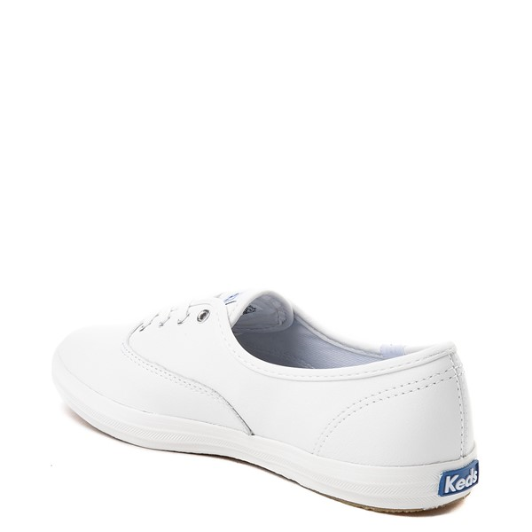 alternate view Womens Keds Champion Original Leather Casual Shoe - WhiteALT1