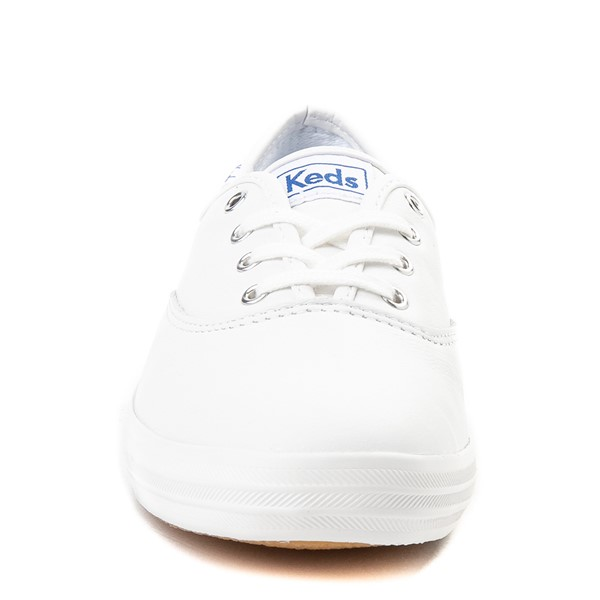 alternate view Womens Keds Champion Original Leather Casual Shoe - WhiteALT4