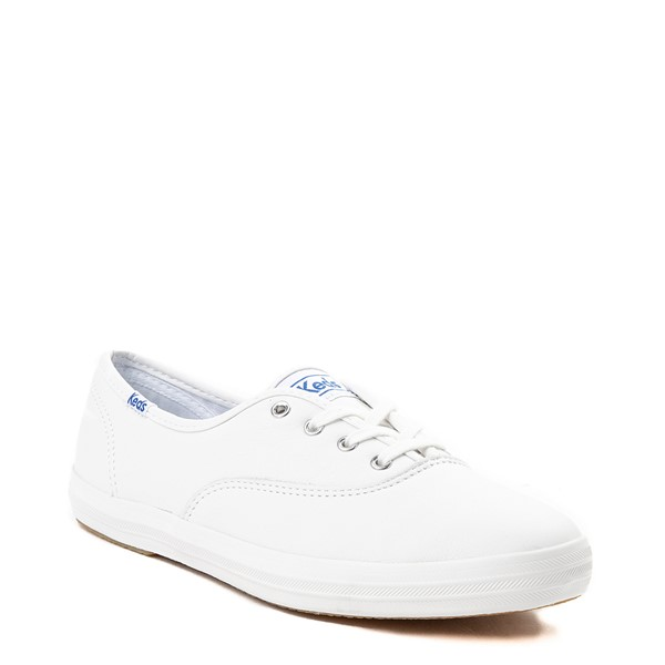 alternate view Womens Keds Champion Original Leather Casual Shoe - WhiteALT5