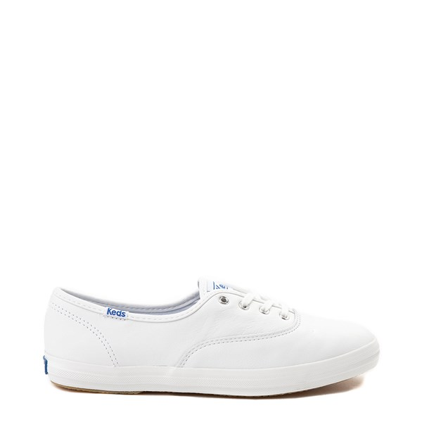 Womens Keds Champion Original Leather Casual Shoe - White