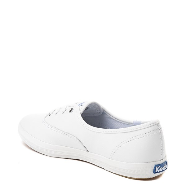 alternate view Womens Keds Champion Original Leather Casual Shoe - WhiteALT2