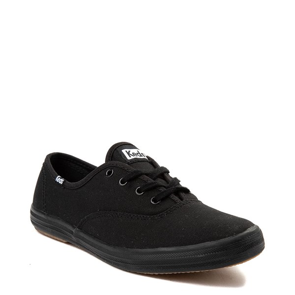 alternate view Womens Keds Champion Original Casual Shoe - BlackALT1