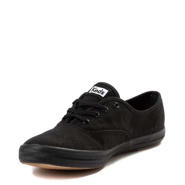 alternate view Womens Keds Champion Original Casual Shoe - BlackALT3