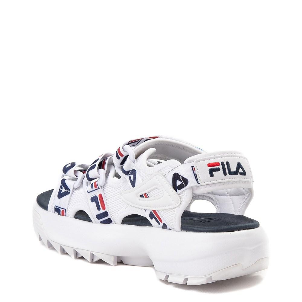 dsw fila disruptor sandal