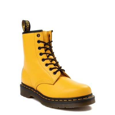 Alternate view of Dr. Martens 1460 8-Eye Color Pop Boot - Yellow