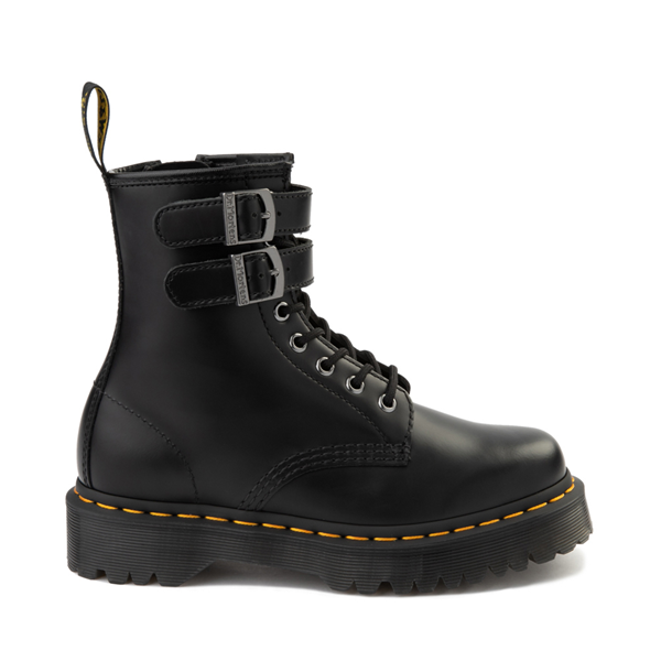 Womens Dr. Martens 1460 8-Eye Bex Buckle Boot - Black