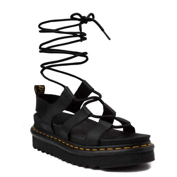 alternate view Womens Dr. Martens Nartilla Sandal - BlackALT5