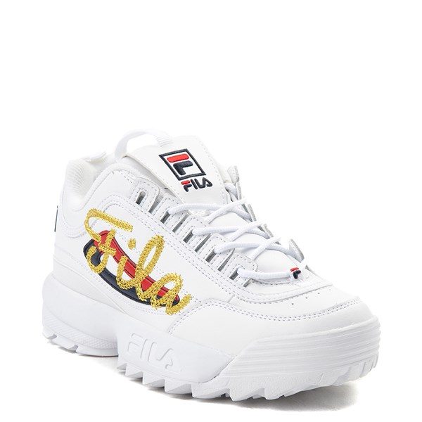 alternate view Womens Fila Disruptor 2 Premium Script Athletic ShoeALT1