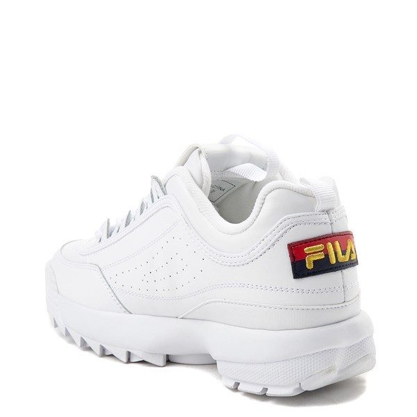 alternate view Womens Fila Disruptor 2 Premium Script Athletic Shoe - White / GoldALT2