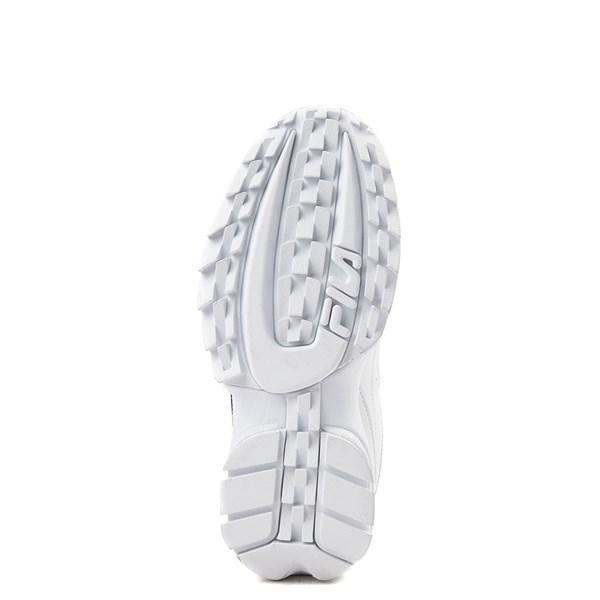 alternate view Womens Fila Disruptor 2 Premium Script Athletic Shoe - White / GoldALT5