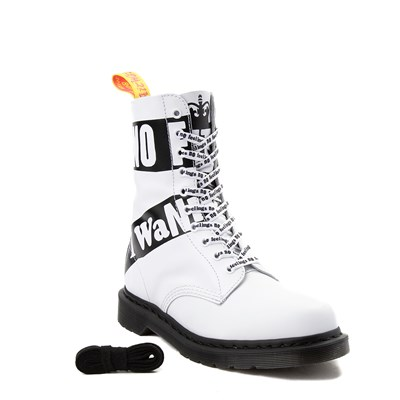 Alternate view of Dr. Martens 1490 Sex Pistols 10-Eye Boot
