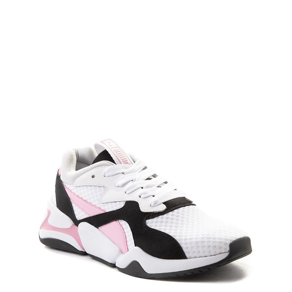 alternate view Puma Nova '90s Athletic Shoe - Little KidALT1