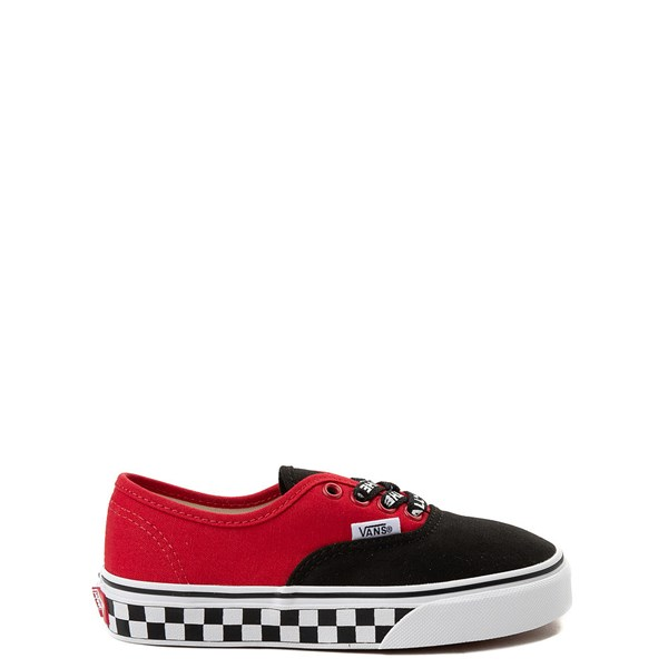 Default view of Vans Authentic Logo Pop Checkerboard Skate Shoe - Little Kid / Big Kid