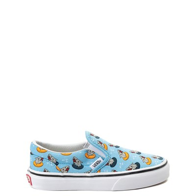 Youth Vans Slip On Floatie Sharks Skate Shoe
