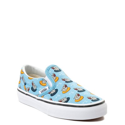 Alternate view of Vans Slip On Floatie Sharks Skate Shoe - Little Kid