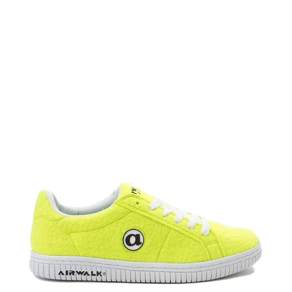 Mens Airwalk Jim Lo Tennis Ball Skate Shoe - Yellow