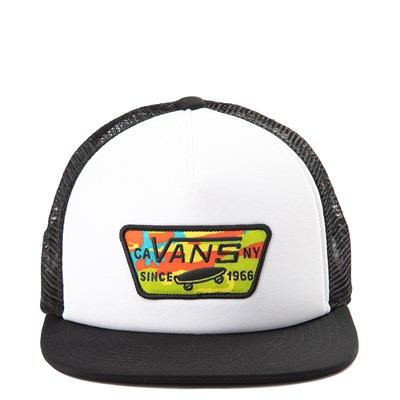 Main view of Vans Full Patch Pop Camo Trucker Hat - Little Kid