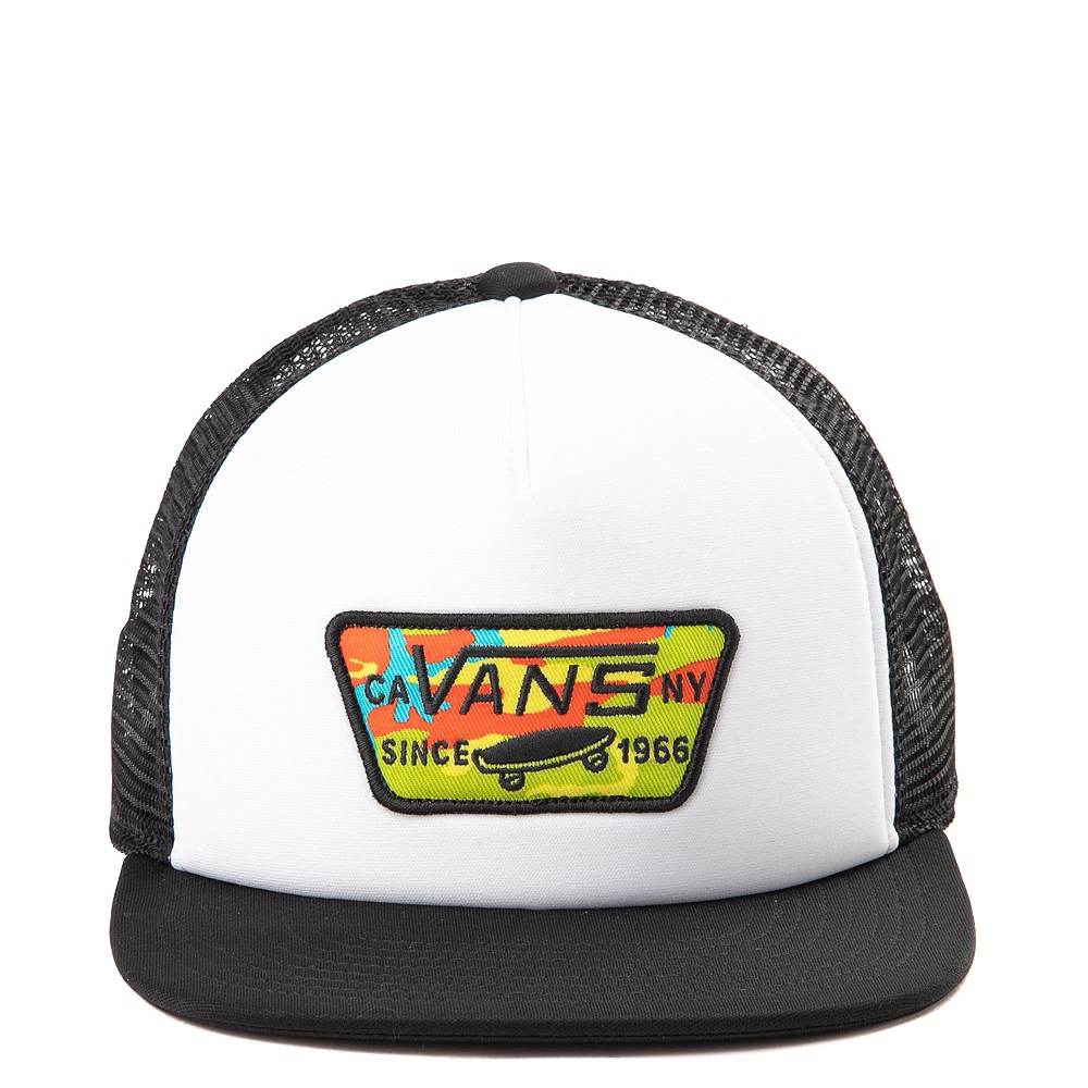 Vans Full Patch Pop Camo Trucker Hat - Little Kid